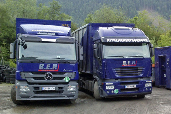 Altreifenentsorgung - Reifen-Recycling - Lindinger