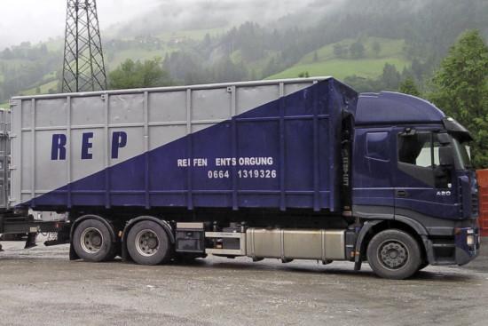 Altreifenentsorgung - Reifen-Recycling - Österreich